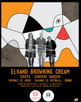 Elkano Browning Cream promotional poster