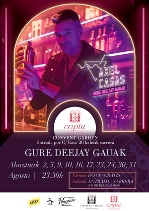Deejay Gauak promotional poster